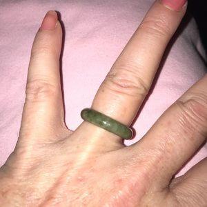 Jewelry - HAND CARVED GENUINE BURMESE JADE RING